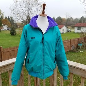 Vintage Columbia Teal Jacket